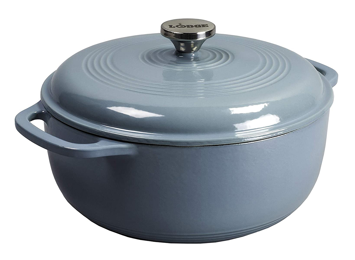 grey dutch oven