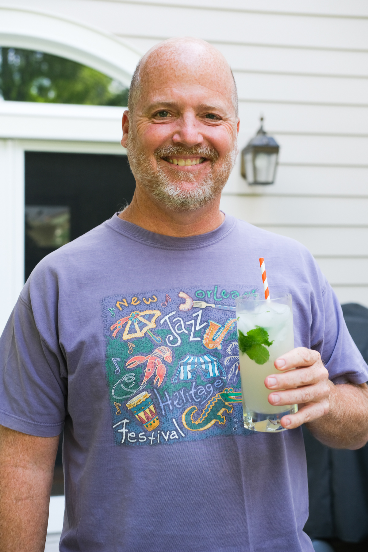 dad with his mojito