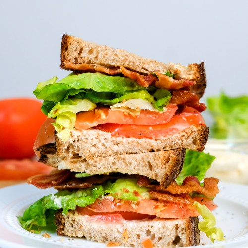 A Pretty Simple BLT Sandwich