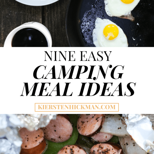 9 Easy Camping Meal Ideas