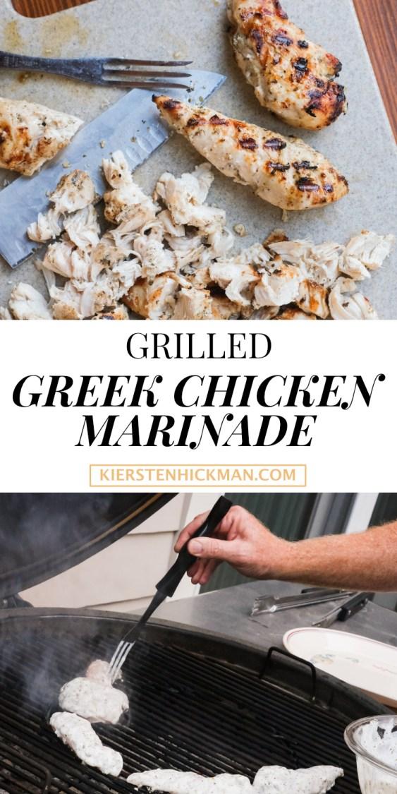 grilled greek chicken marninade