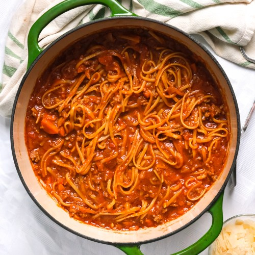 One-Pot Bolognese Recipe