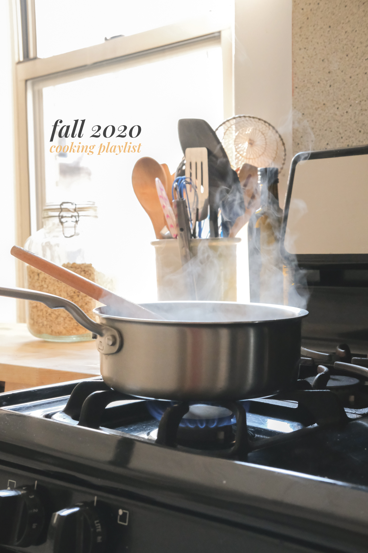 fall 2020 cooking playlist