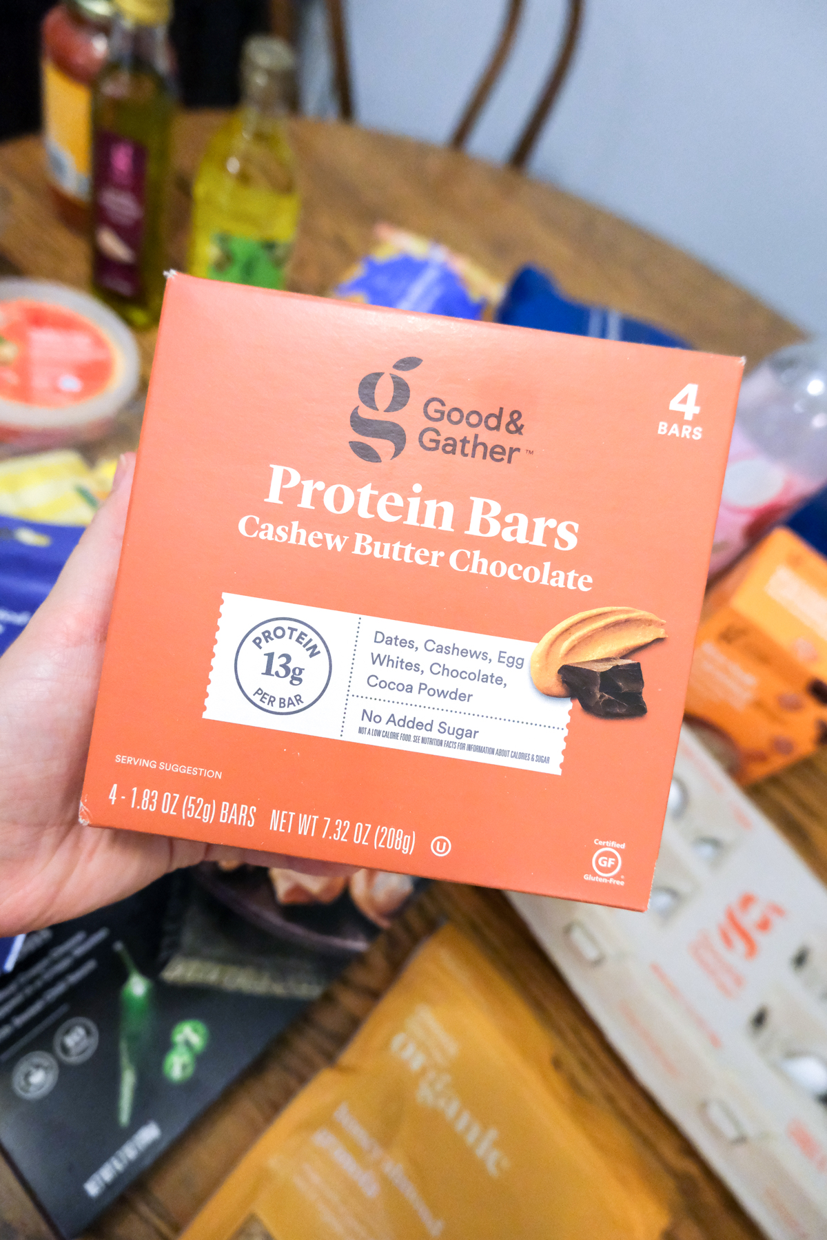 protein bars Good & Gather from Target