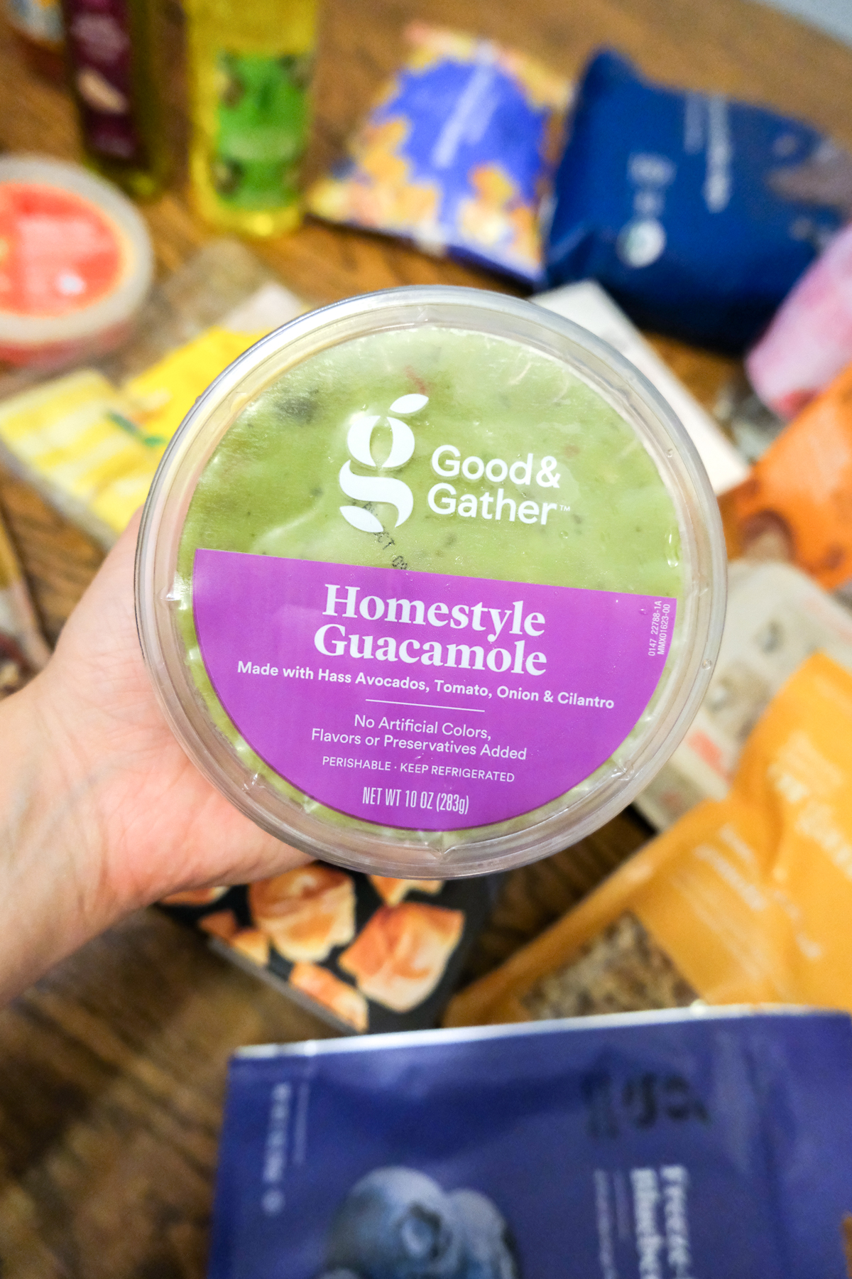homestyle guacamole Good & Gather from Target