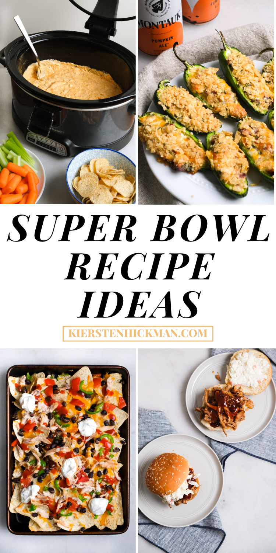 super bowl recipe ideas