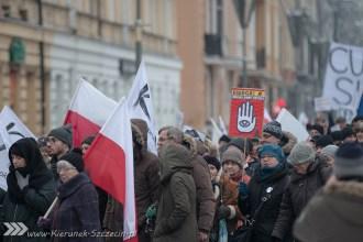 marsz KOD, Szczecin 23.01.2016