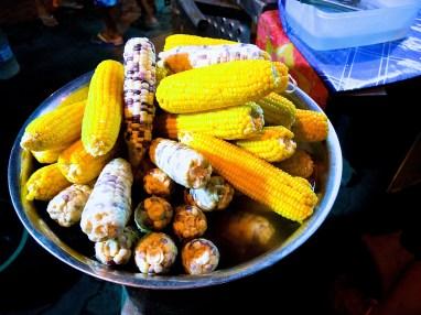 Corn, sweet corn, GMO corn
