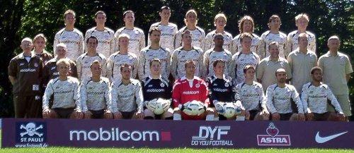 Manschaftsfoto FC St. Pauli 2005/06