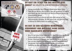 Hast du ein Ticket für ein FC St. Pauli - Spiel über? Dann lies das und halte dich gefälligst dran!