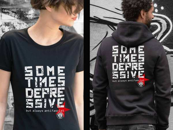 Sometimes depressive - but always antifascist