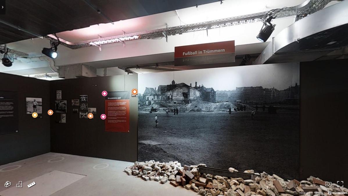 """Screenshot der Online-Ausstellung """"FC St. Pauli im Dritten Reich"""". Bild: FC St. Pauli-Museum"""