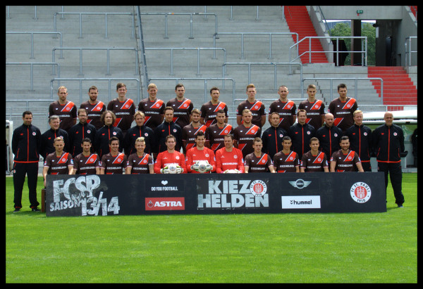Teamfoto FC St. Pauli