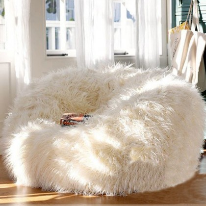 canape chaises siege salon meubles sans remplissage beanbag lits paresseux couleur gris