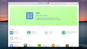 Ilustración 18: Elementary OS y su centro de aplicaciones.