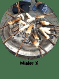 Button - Mister X - 2017