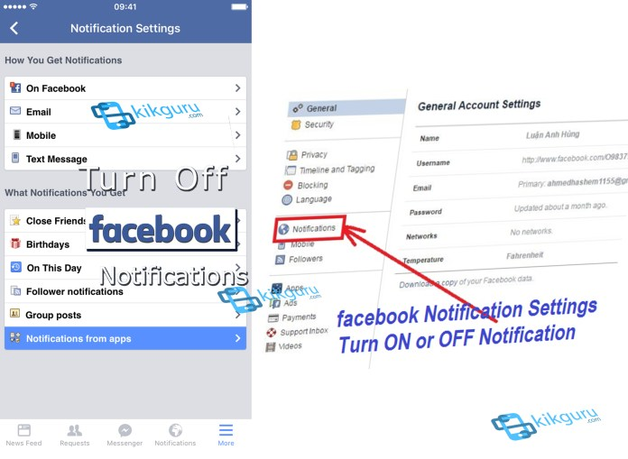 Facebook Notification - Why People Use Facebook Notification Update | Facebook Message Notify