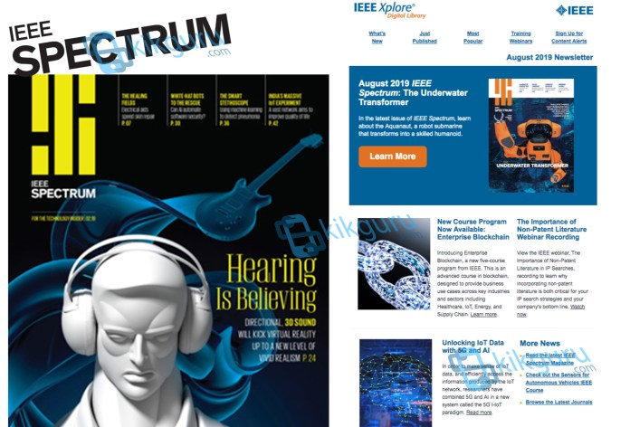 IEEE Spectrum - Create New Account & Log in IEEE Spectrum Online Website