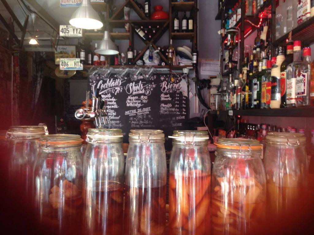 préparation pour les cocktails