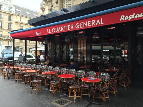 Le quartier général-Paris