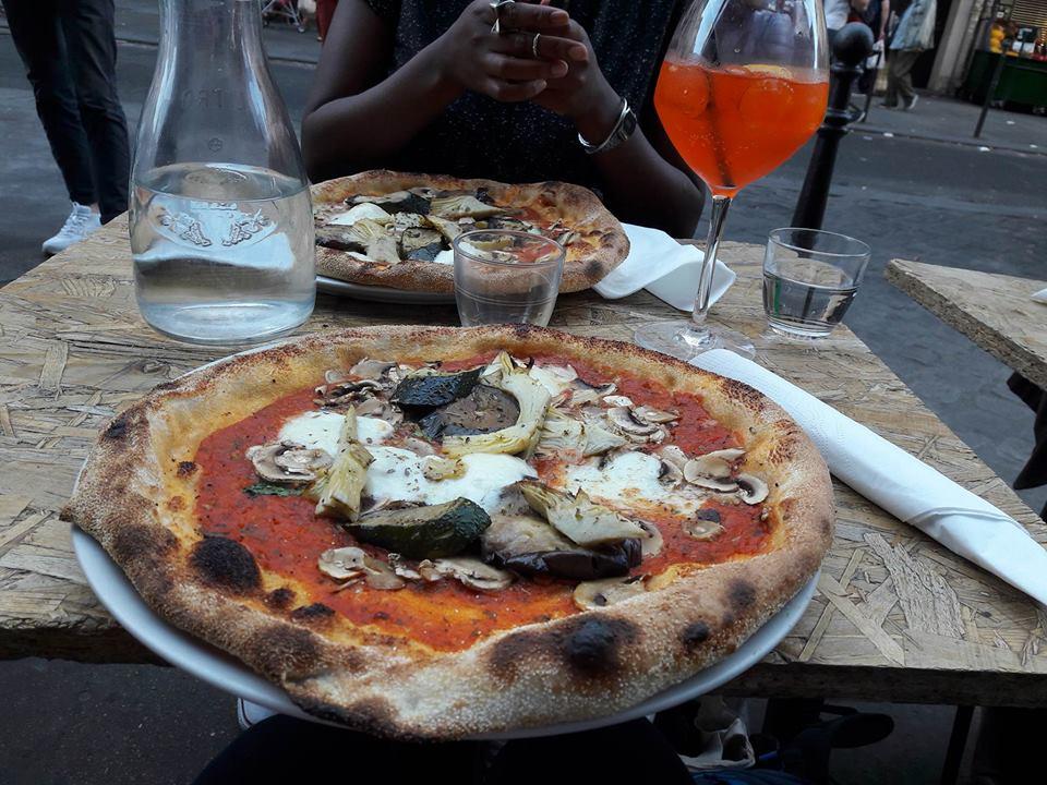 Pizza, Sette Pizza, restaurant