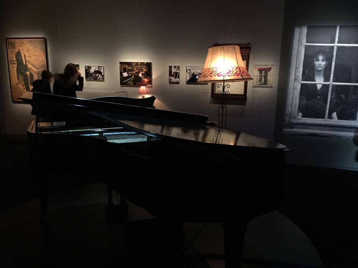Piano, exposition Barbara