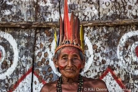 Man, Amazonian Tribe, Brazil