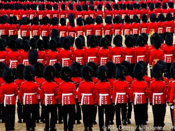 Trooping the Colour, London, UK