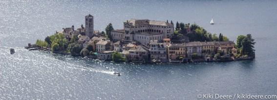 Isola San Giulio, Lake Orta, Italy