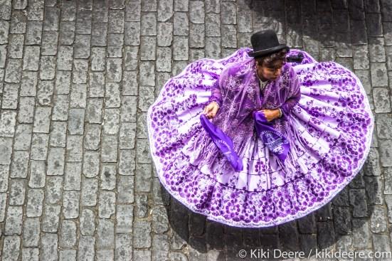 Dancing Lady, Arequipa, Peru