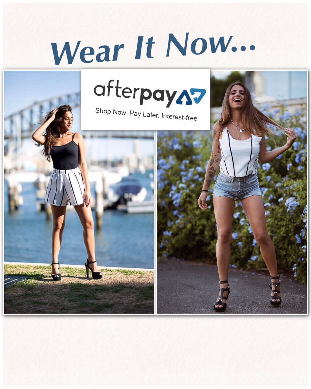 451b931f410df Wear It Now Pay Later… Afterpay making shopping easy – KiKi Fashion Co.