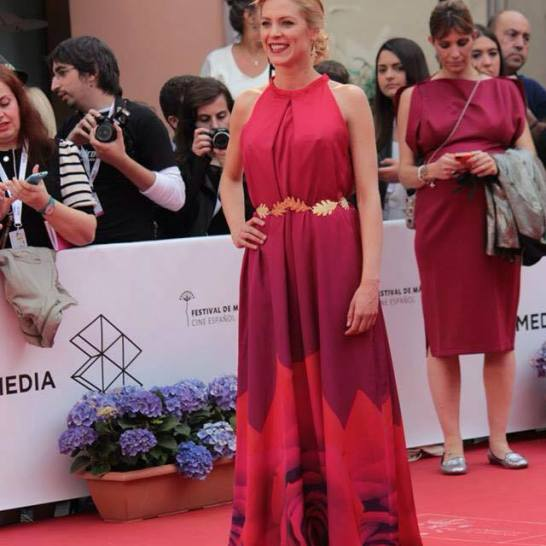 Maggie Civantos en el Festival de Cine de Málaga