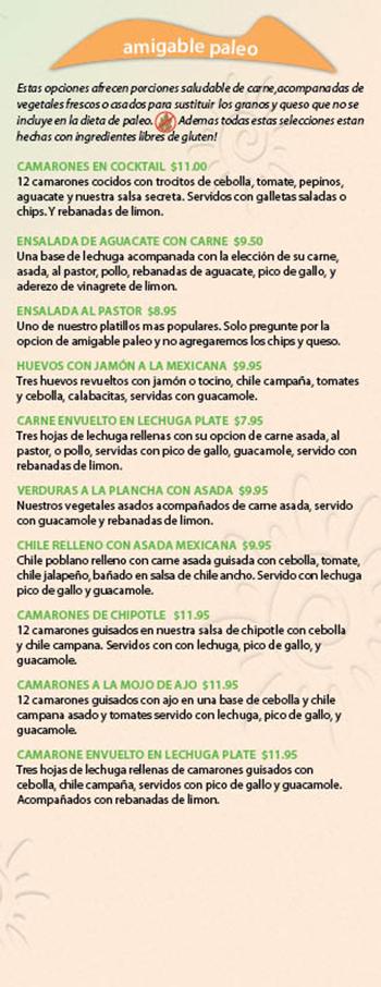 Kikos Authentic Mexican, Brighton Colorado, amigable paleo platillos