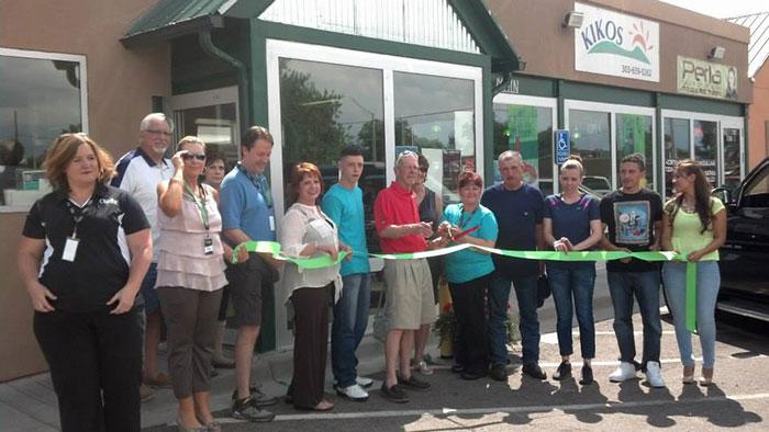 Kikos Authentic Mexican Food, Brighton Colorado, ribbon cutting, July 2014