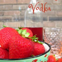 Happy Hour: Strawberry Vodka, Kiku Corner