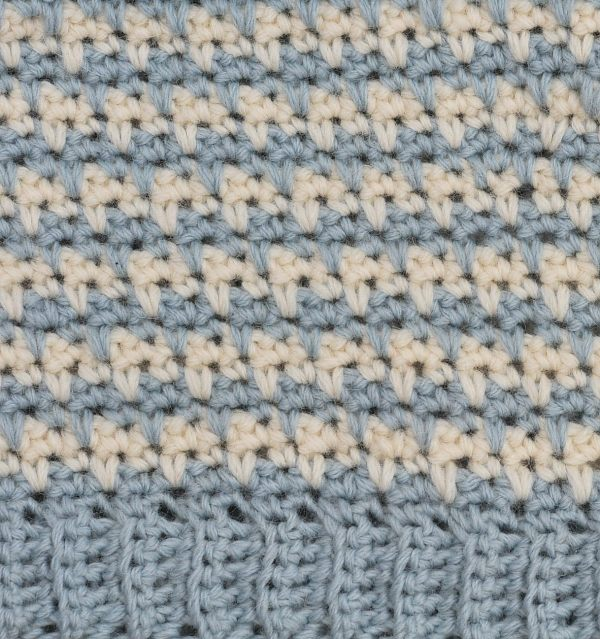 Crocheted Toothed Cowl and Free Pattern