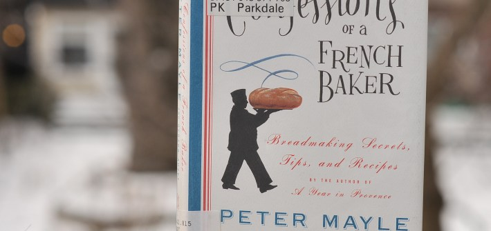 Confessions of a French Baker by Peter Mayle