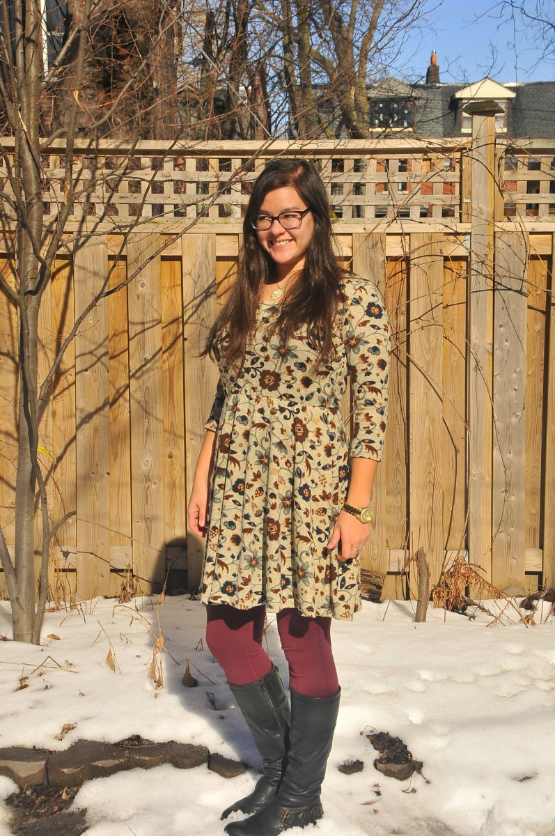 DIY: McCall's M7313 Knit Dress