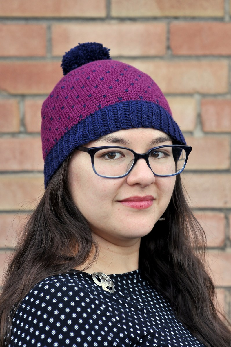 DIY: Crochet Knit Stitch Beanie with Ribbing and Free Pattern