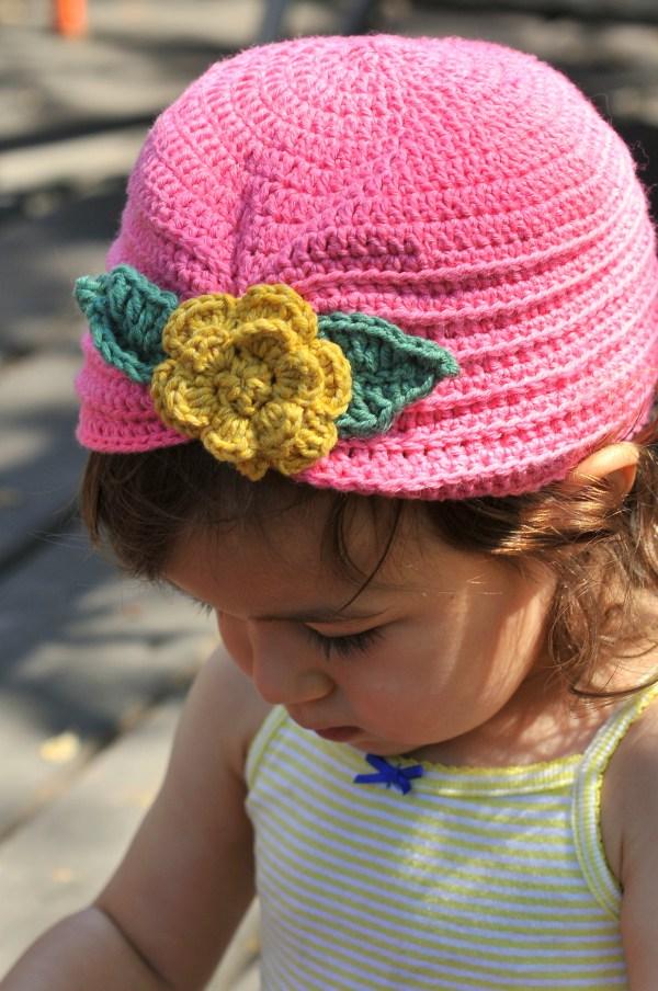 Diy Crochet Toddler Turban With Flower And Free Pattern Kiku Corner
