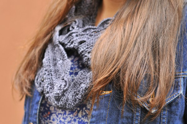 DIY Crochet Emma Lace Scarf by Simona Merchant-Dest