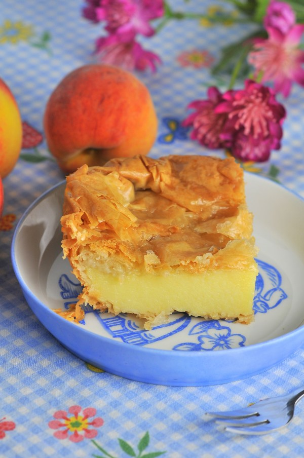 Greek Semolina Custard Cake