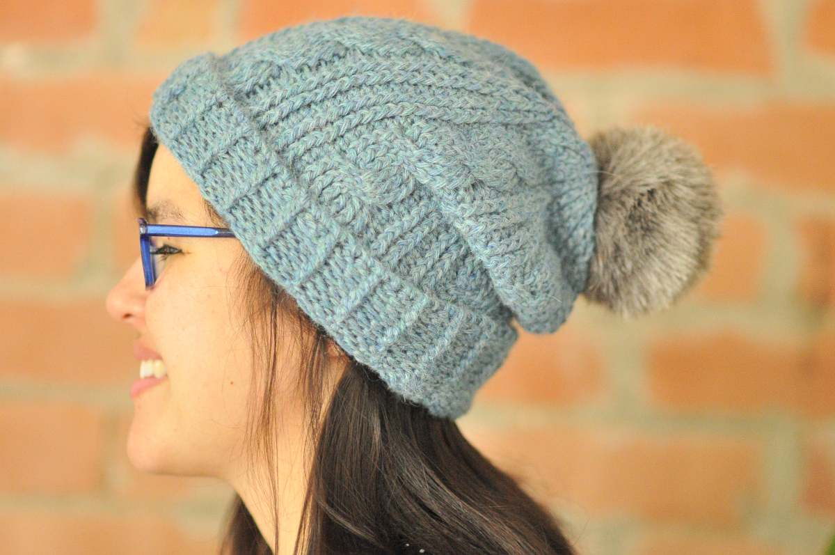 DIY: Alpaca Cabled Crochet Beanie and Free Pattern
