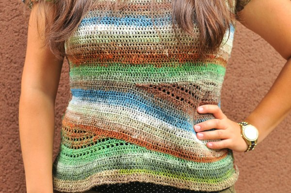 DIY Crochet Convergence Top
