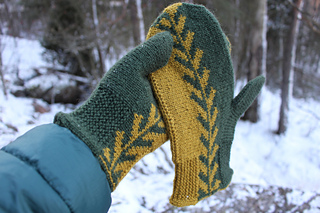 Free Mitten Knitting Patterns - Grown Together by Aino Vikman