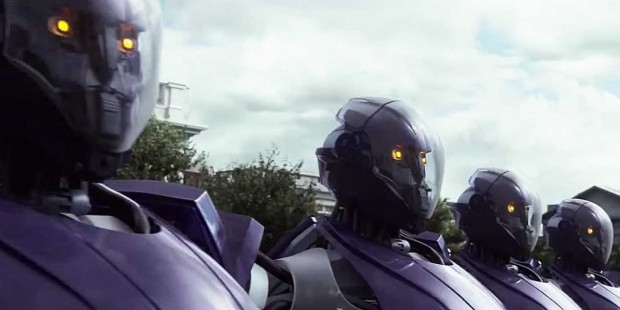 Régi Őrrobotok