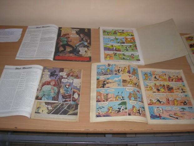 A fotón: Magyarországon nyomtatott képregények