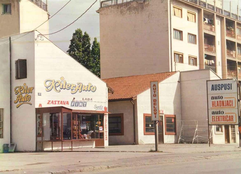 O nama - Kiler Auto devedesetih