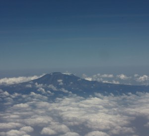 Kilimanjaro Mountain from Clouds View