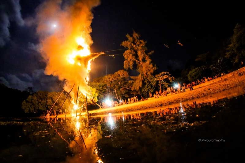 The Kilifi New Year Burn